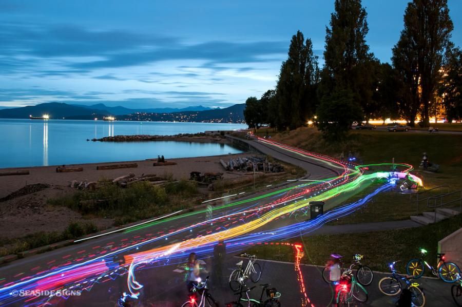 vancouver bike rave 2014 1