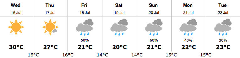 weather july 16 2014 2