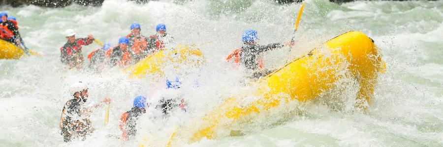 whitewater rafting whistler