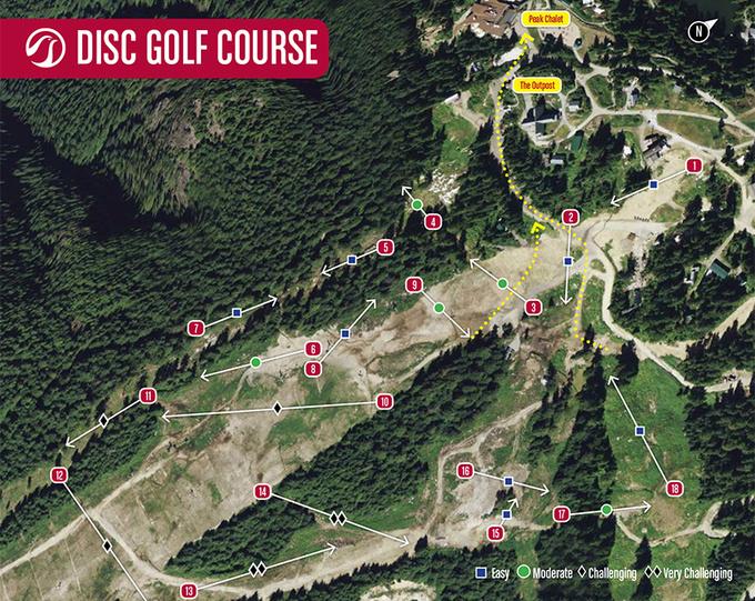 Grouse Mountain Disc Golf Course