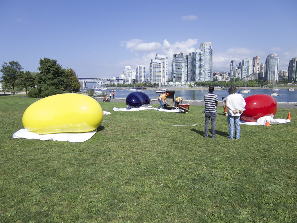 Vancouver Biennale Jelly Bean Love Your Bean