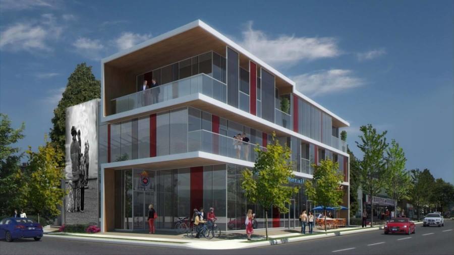 The future new BC Burn Fund Centre