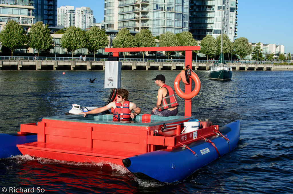 hot tub boat vancouver 1