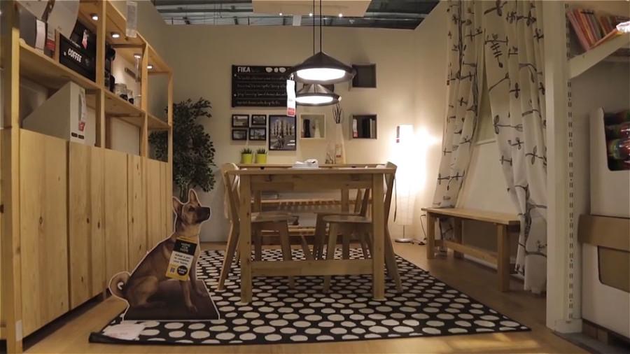Ikea shelter dogs promotion in Singapore (Ikea)