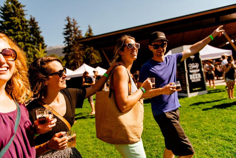 whistler village beer festival