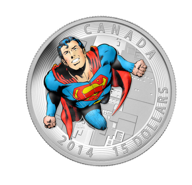 superman canadian coin canadian mint