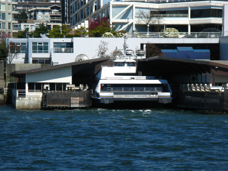 SeaBus Burrard Pacific Breeze