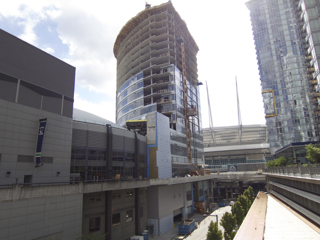 rogers arena towers