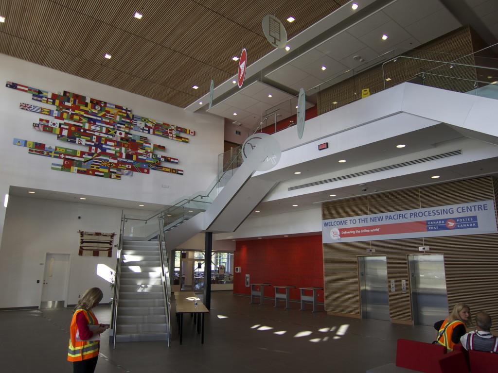 Canada Post Pacific Processing Centre Vancouver Richmond