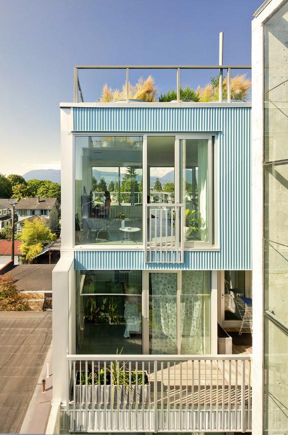 Monad House via Lang Wilson Practice