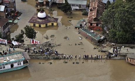 Srinagar flooded streets