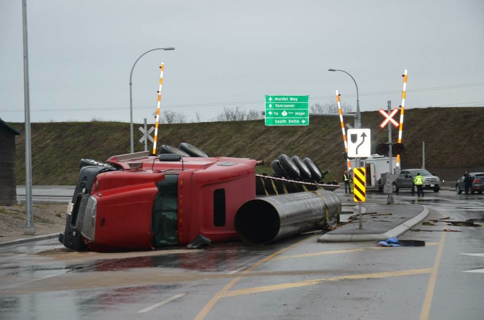 Truck-roll-over