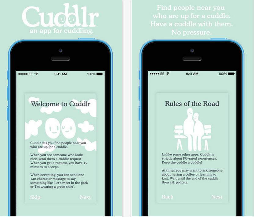 cuddlr app 1