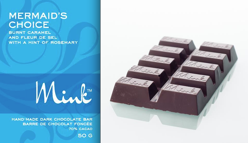 minks chocolates mermaids choice chocolate bar