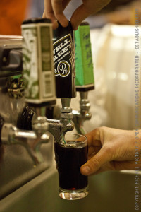 pour beer at BCBA 2013