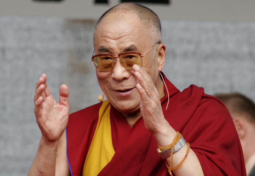 Dalai Lama via vipflash / Shutterstock.com