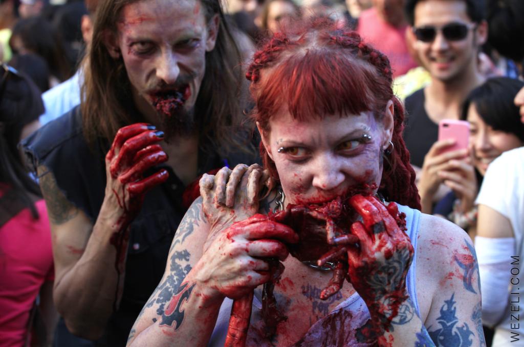 vancouver zombie walk 2014 wezeli 2