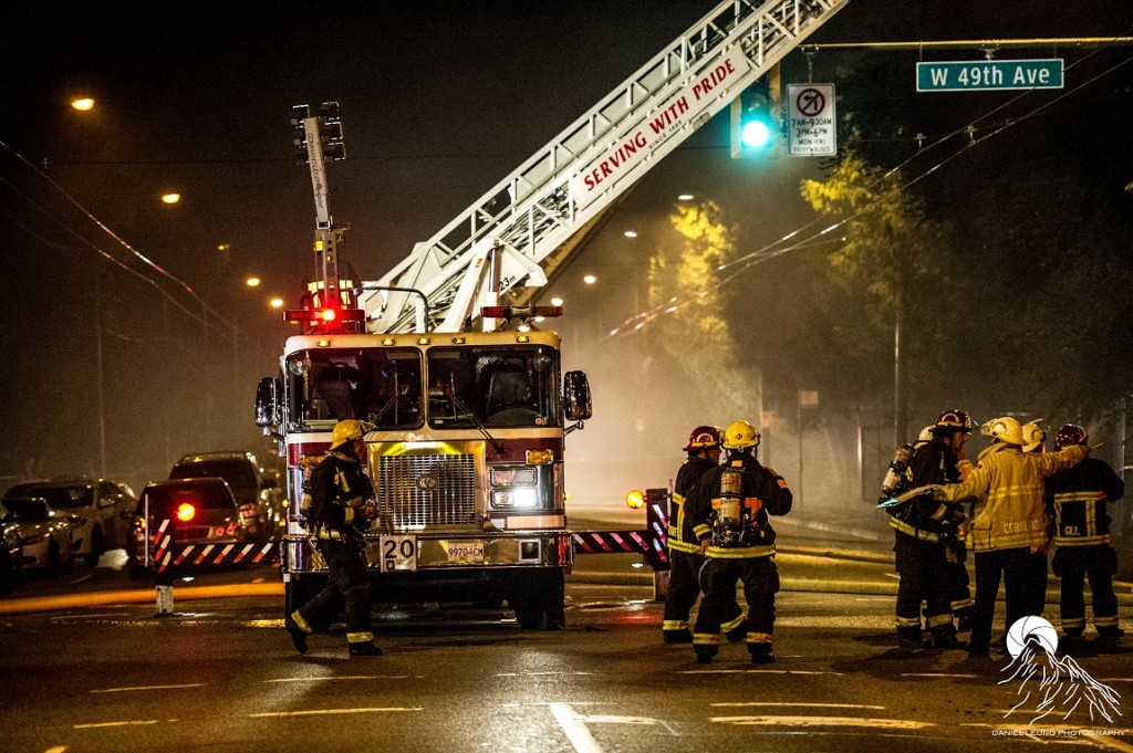 Granville & 49th Fire - Oct. 3rd, 2014