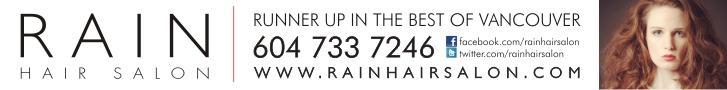 Rain Hair Salon ad