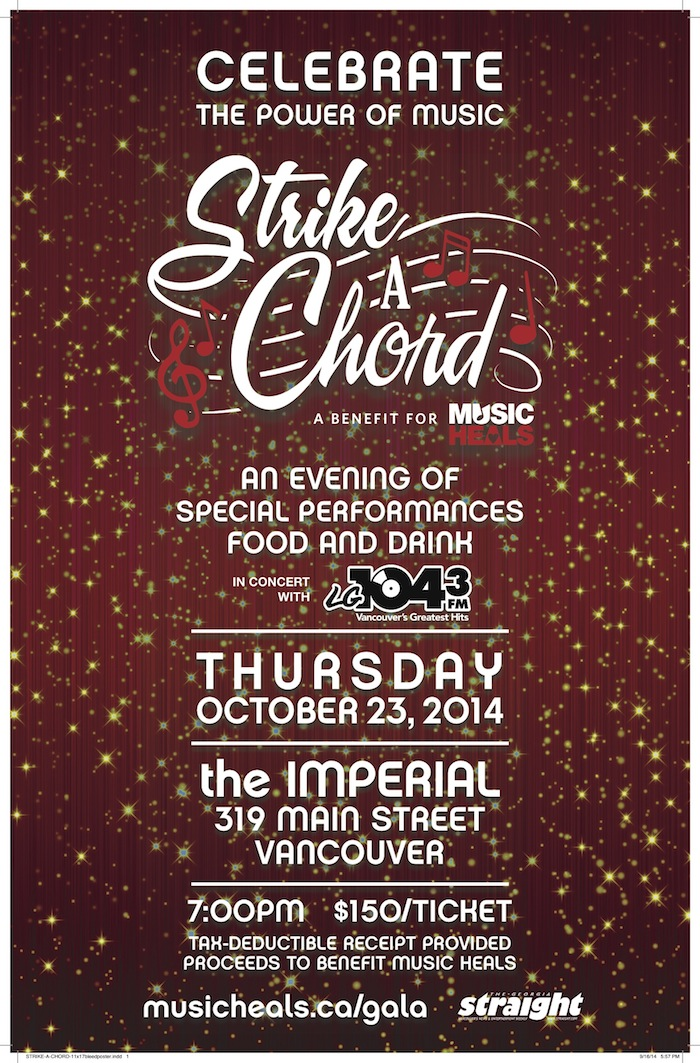 Strike A Chord: A Benefit For Music Heals