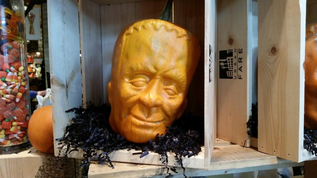 Urban Fare Halloween Frankenstein Pumpkin 2