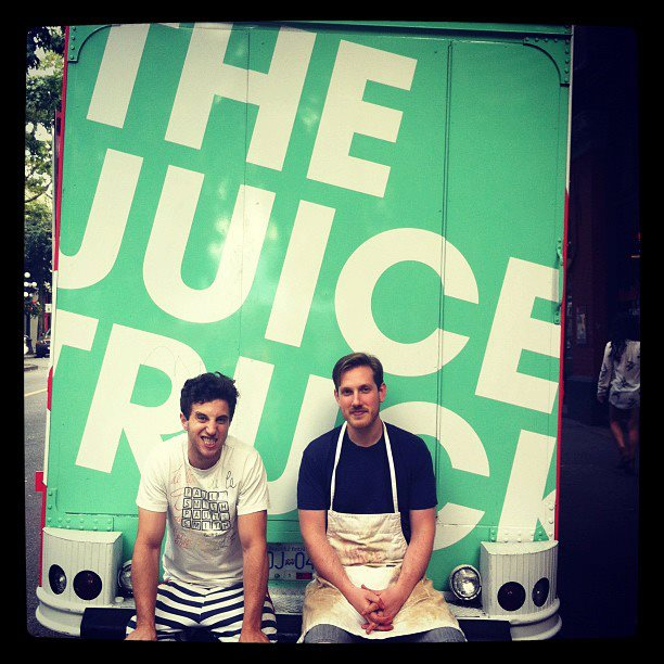 Zach Berman & Ryan Slater @ The Juice Truck