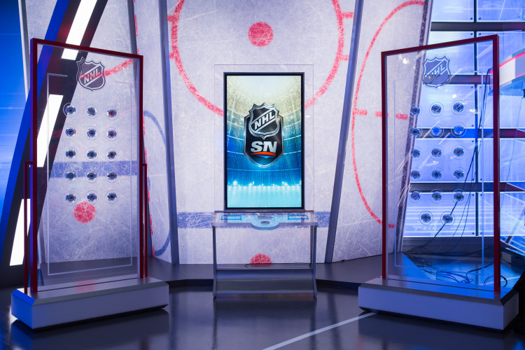 HNIC's Puck Wall. Image: DSG Photo