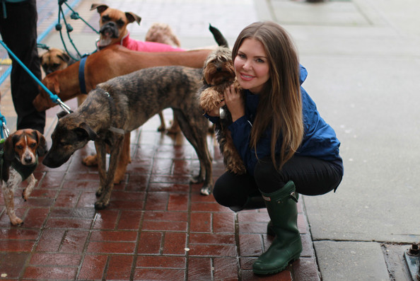 Animal lover Mary Zilba, seen here with her dog George, will perform.