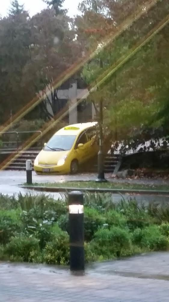 ubc taxi stairs