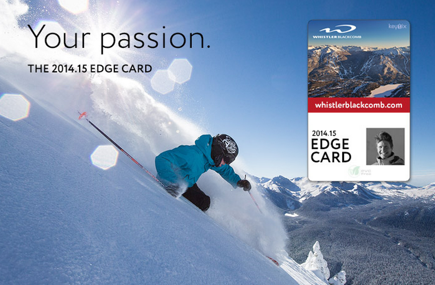 whistler blackcomb edge card