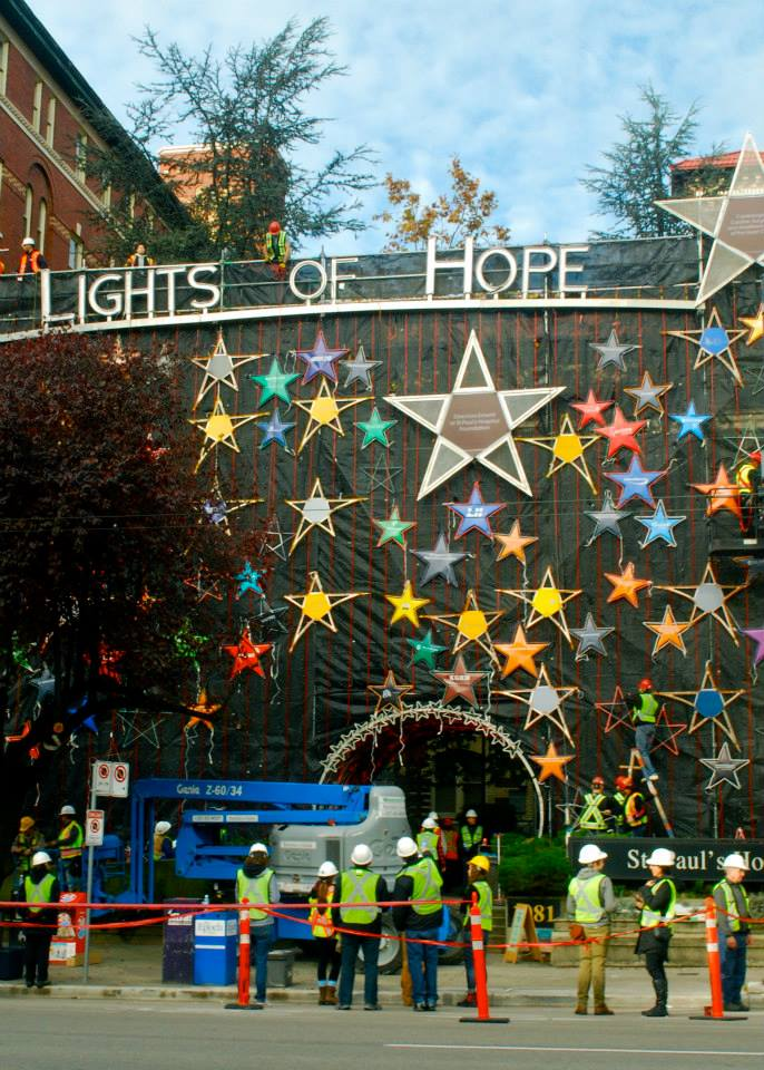 St. Paul's Hospital Lights of Hope Vancouver