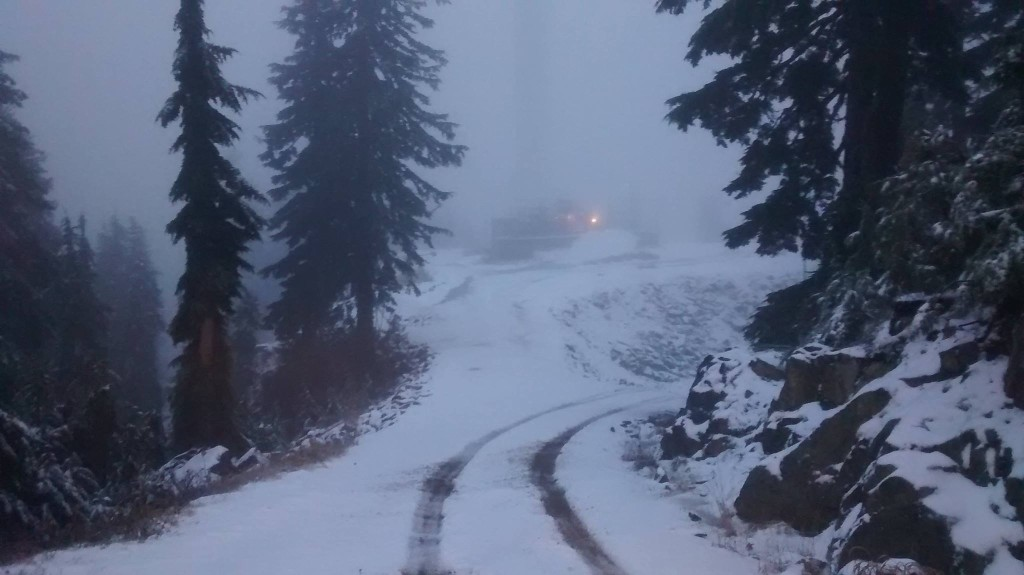 Grouse Mountain snow