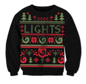 Lights Holiday Sweater