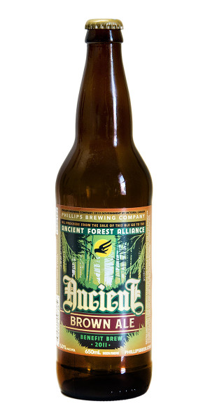 Ancient Brown Ale brewed for the Ancient Forest Alliance.