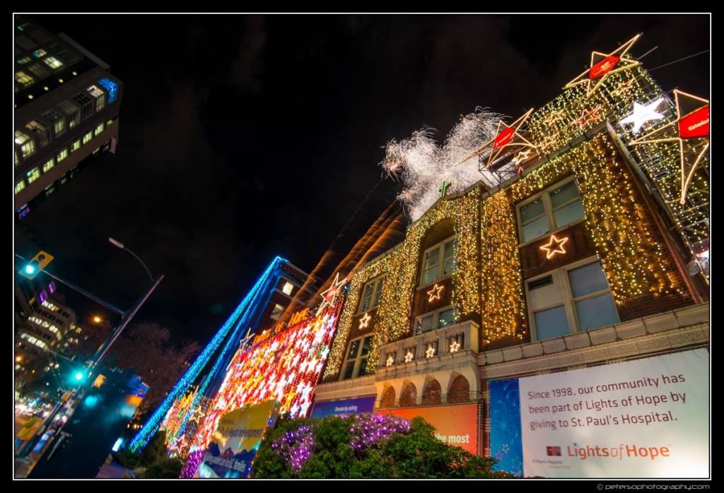 Lights of Hope Vancouver St Paul's Hospital 13
