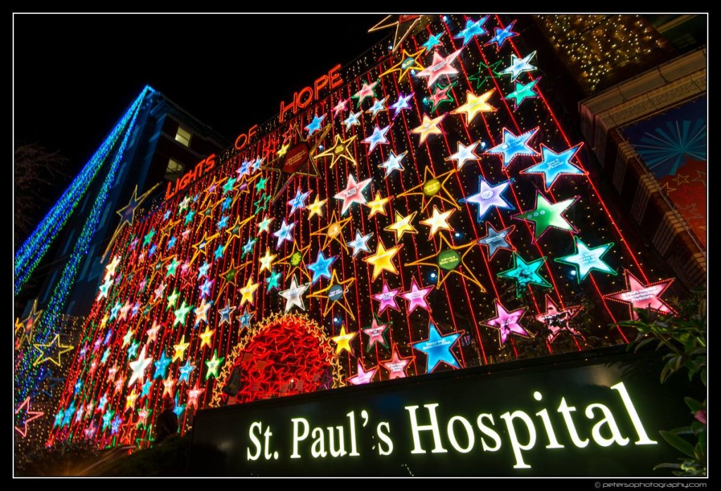 Lights of Hope Vancouver St Paul's Hospital 34
