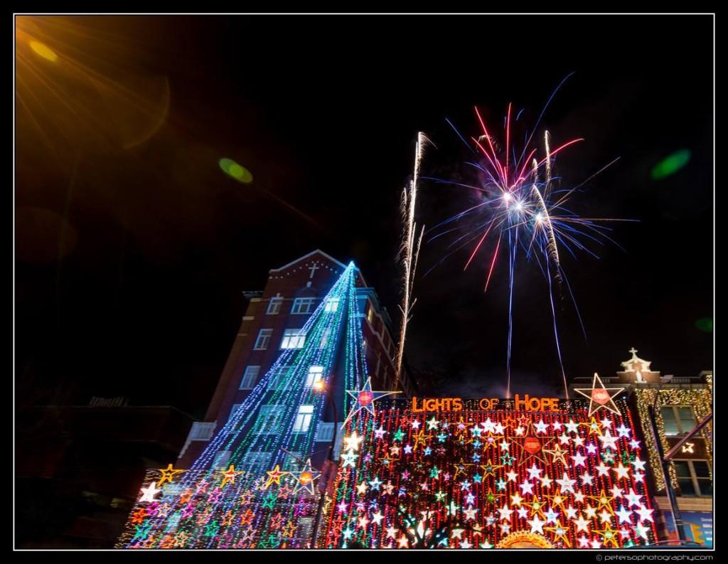 Lights of Hope Vancouver St Paul's Hospital 7