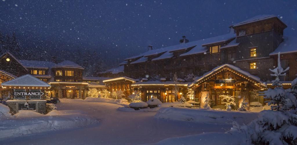 Nita Lake Lodge Winter Morning