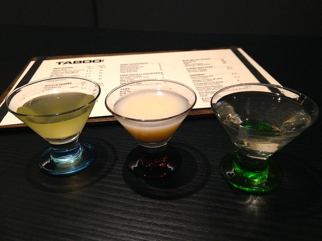 Taboo-drinks