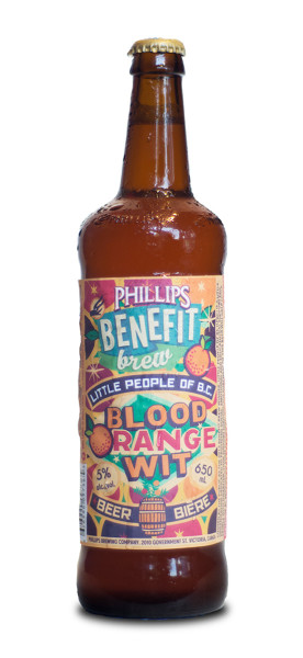 The Blood Orange Wit for the Little People of B.C.