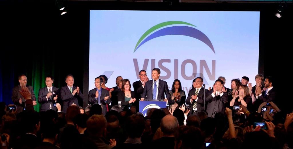 vision vancouver party gregor robertson