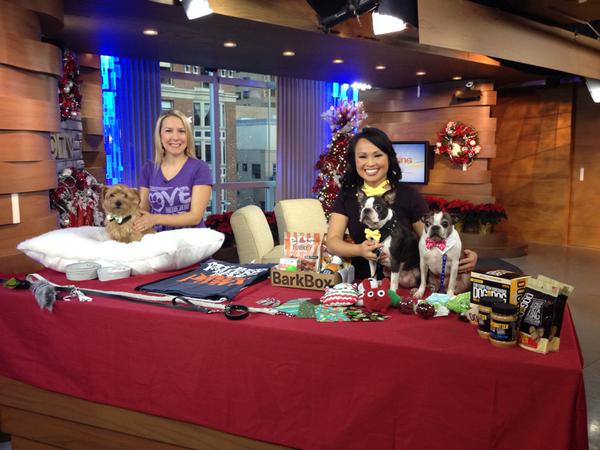 Vancity Buzz columnist Darcy Wintonyk appears on CTV Morning Live on Dec. 3, 2014.