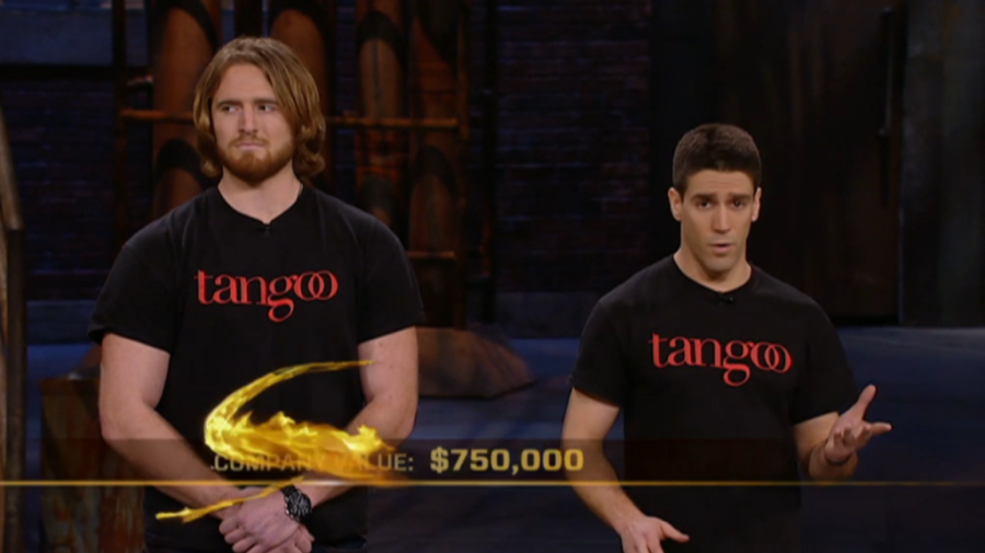 Dragons' Den Valuation Screenshot