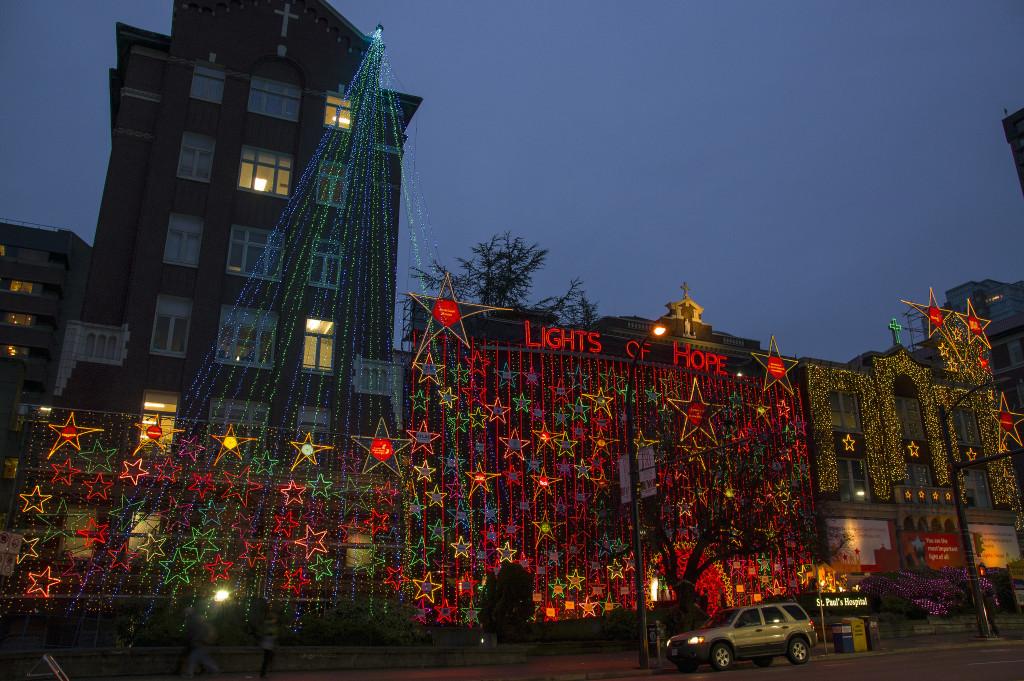 St Paul's Hospital Christmas