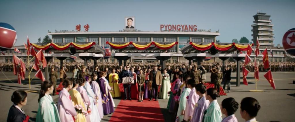 the interview pyongyang airport 22 jump street 2