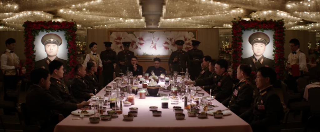 the interview seth rogen randall park pan pacific vancouver crystal ballroom