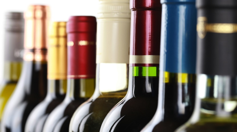Wine bottles/Shutterstock