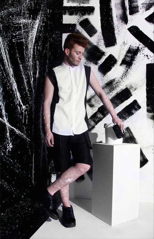 Hans Gallo Pohl, chilean, designer, fashion, menswear, vfw
