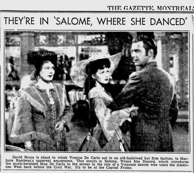 News Clip - Montreal Gazette - Jul 25, 1945 - Photo - 800