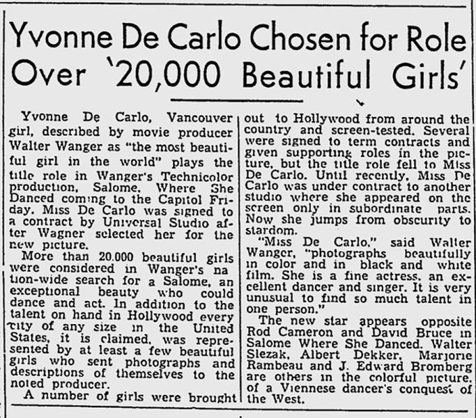 News Clip - Montreal Gazette - Jul 25, 1945 - Text Crop - 800